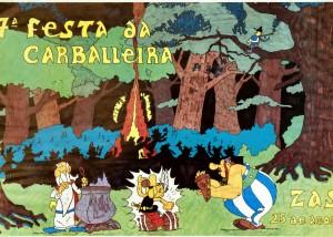 Cartel Festa Carballeira 1990