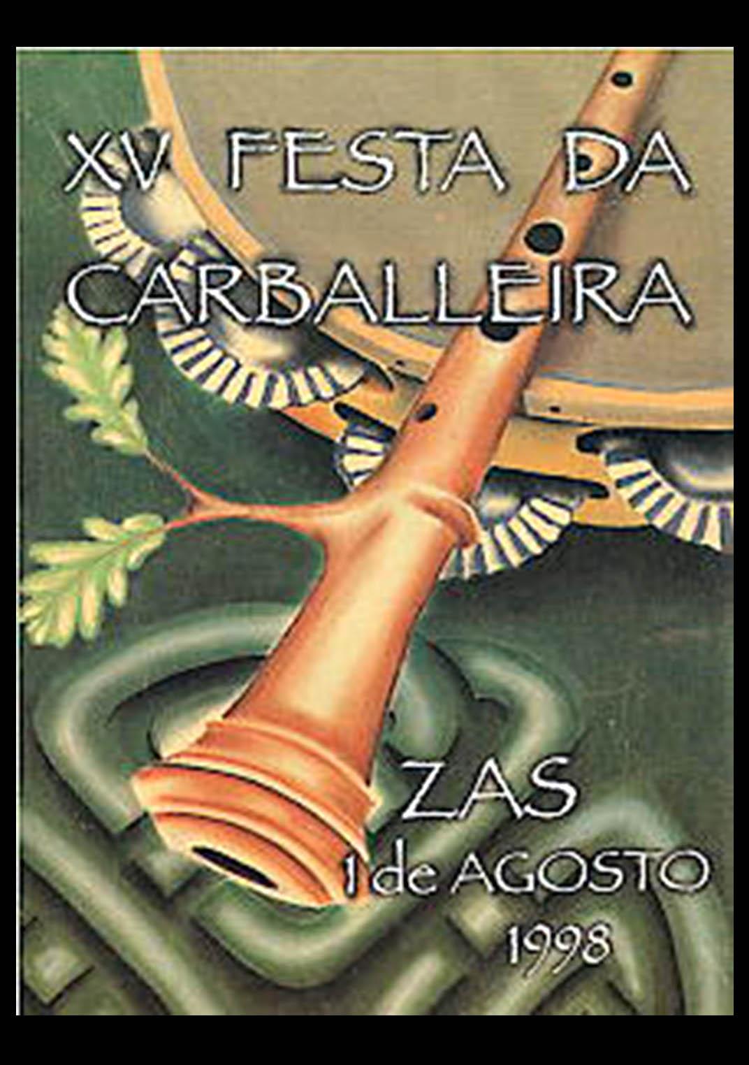 Cartel Festa Carballeira 1998