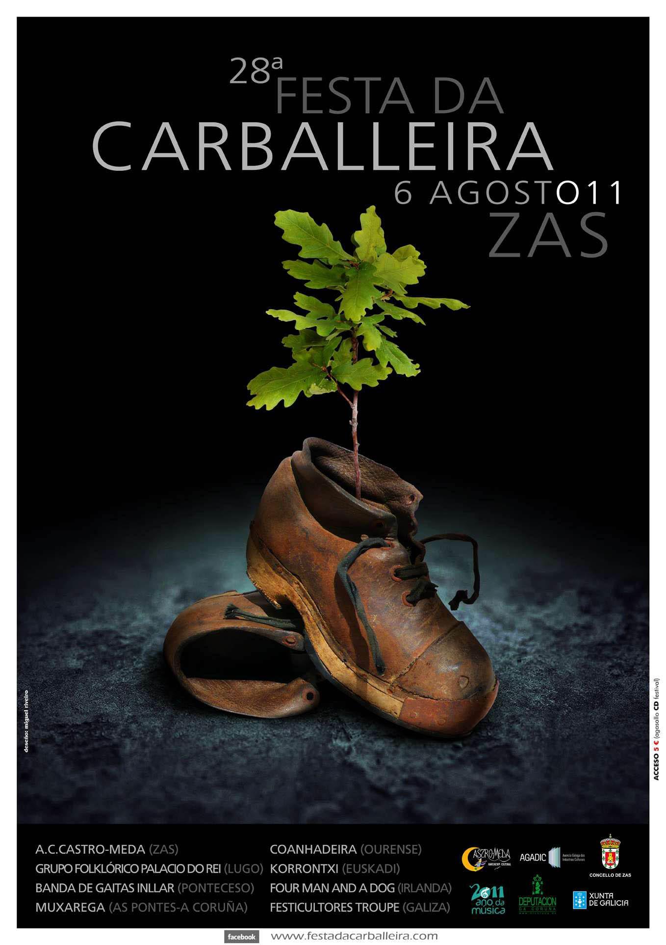 Cartel Festa Carballeira 2011