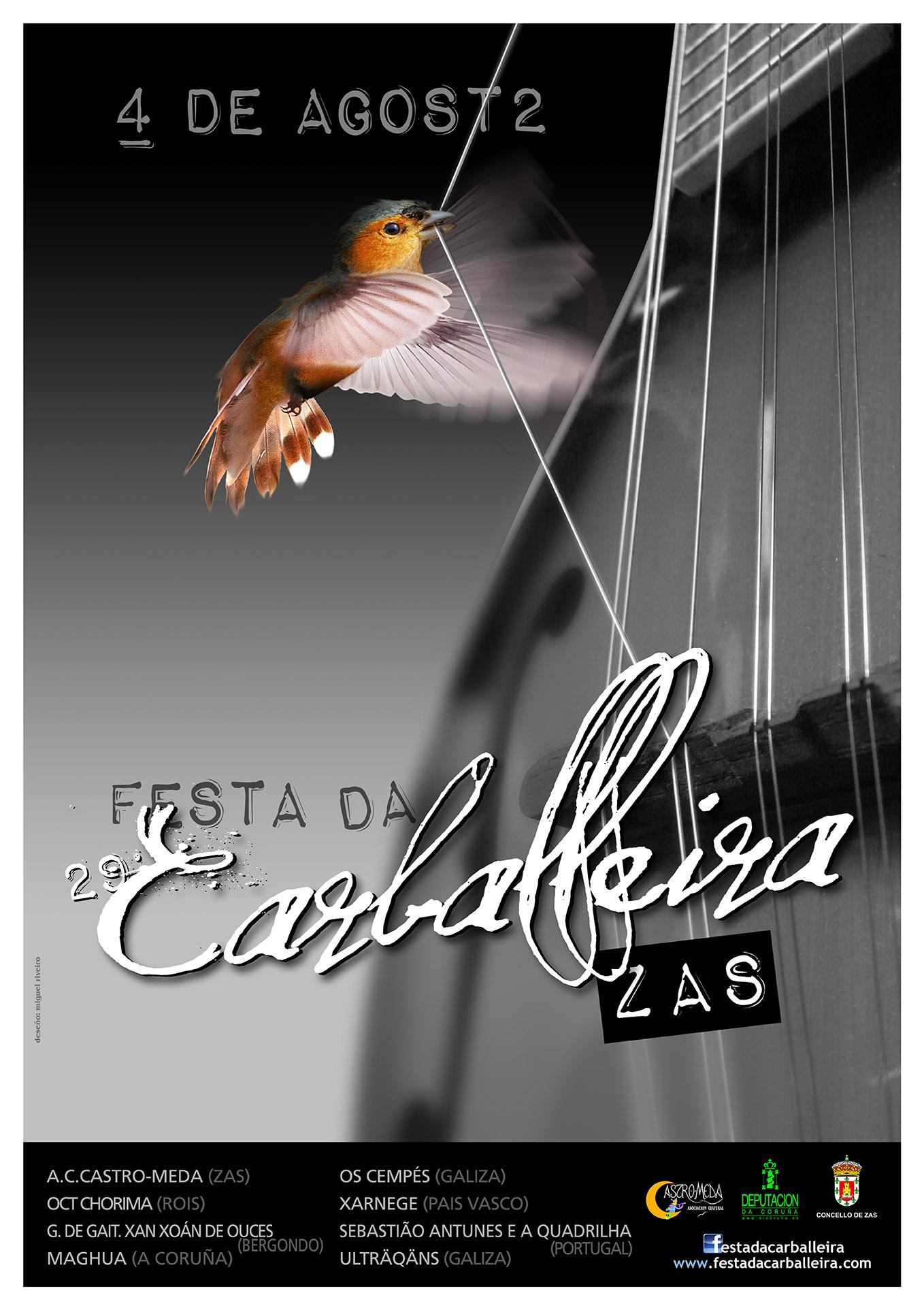 Cartel Festa Carballeira 2012