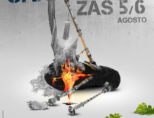 Cartel Carballeira de Zas 2016
