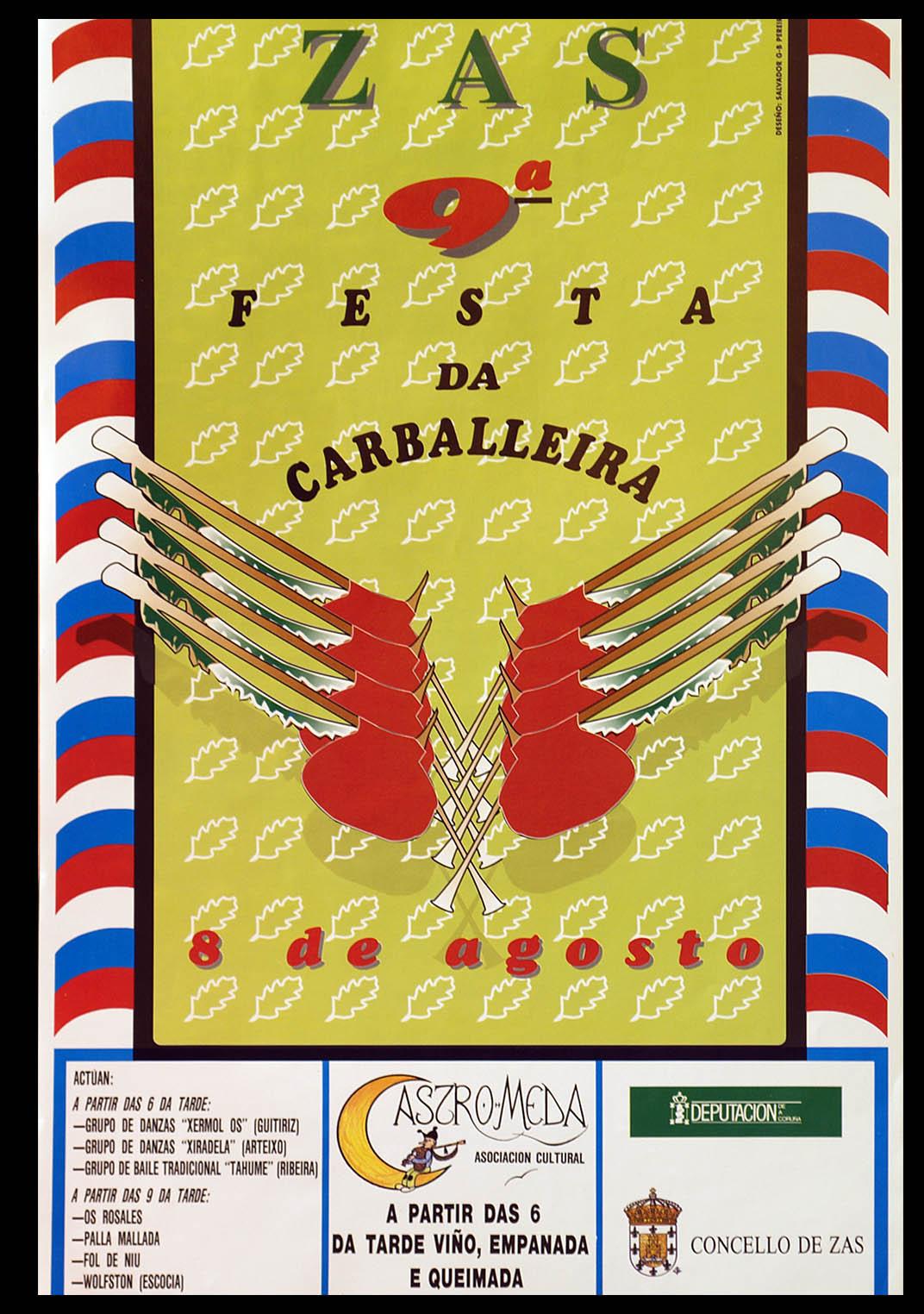 Cartel Festa Carballeira 1992