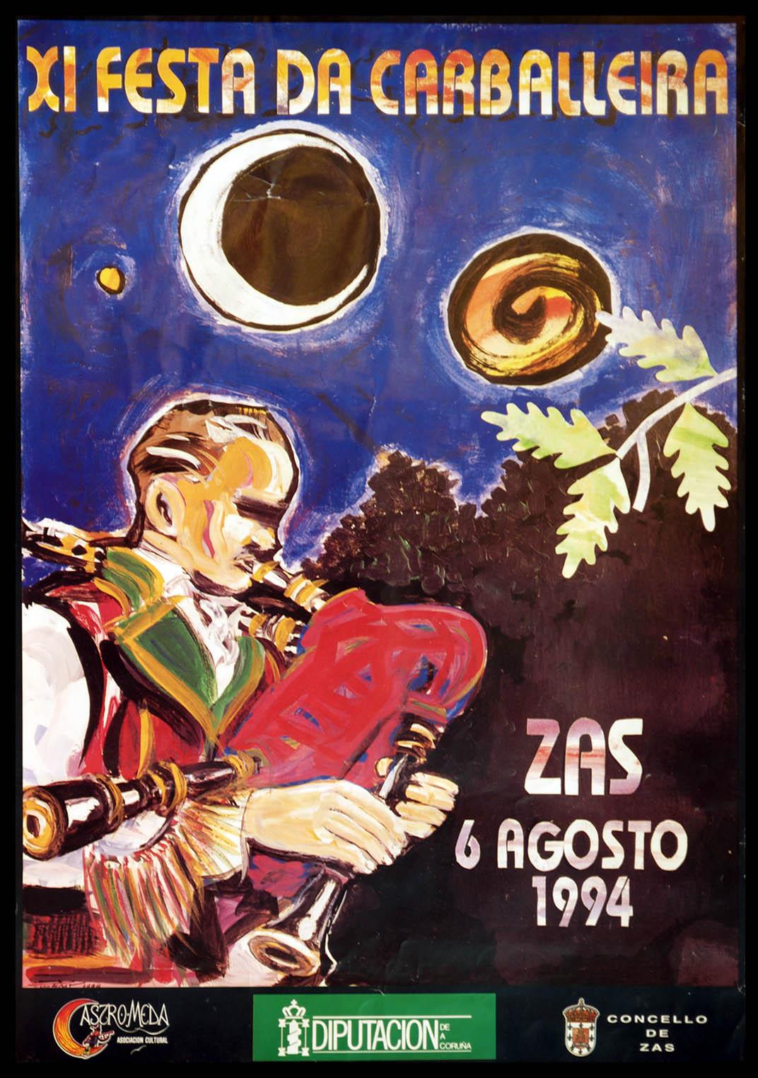 Cartel Festa Carballeira 1994
