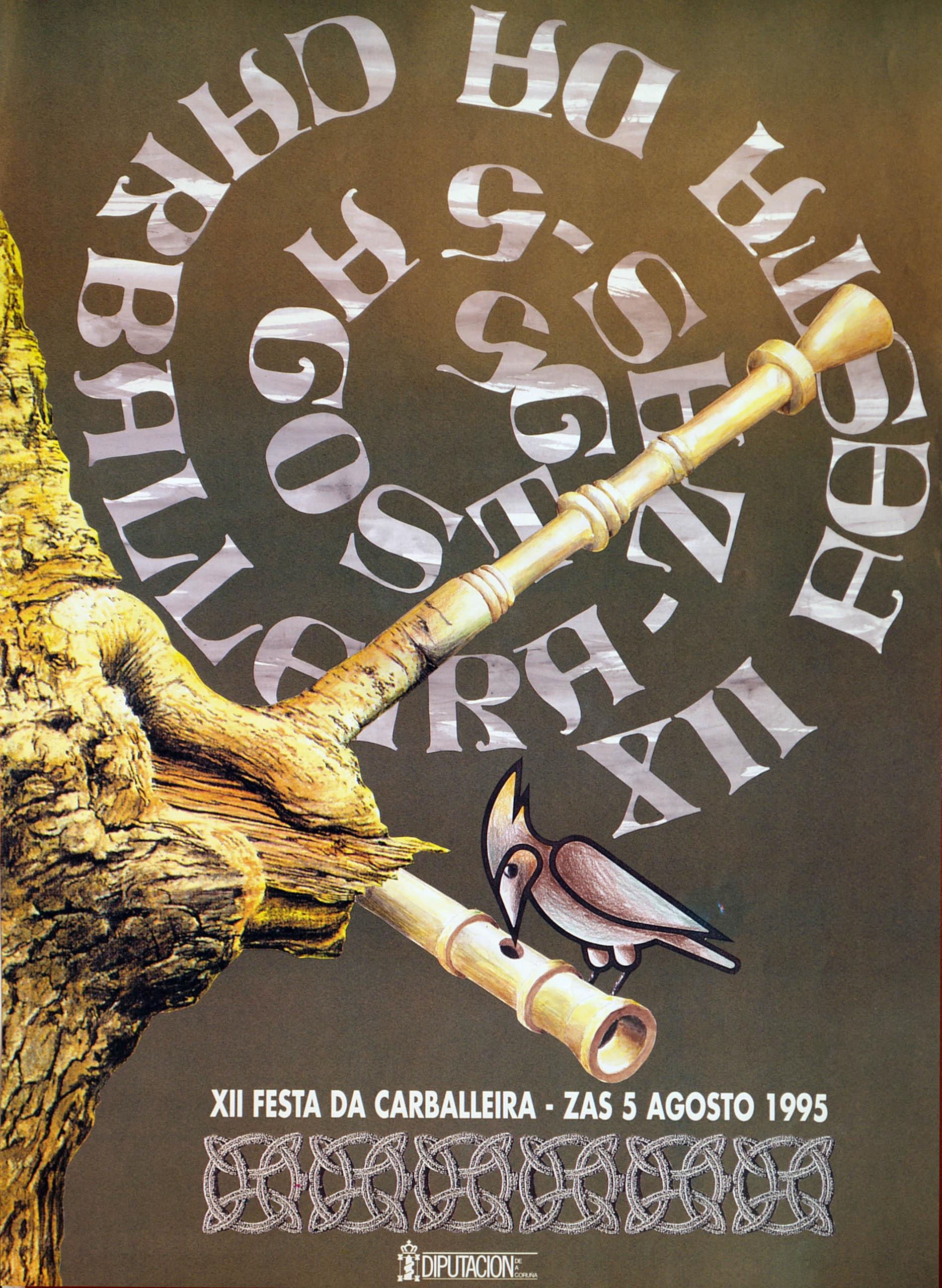 Cartel Festa Carballeira 1995