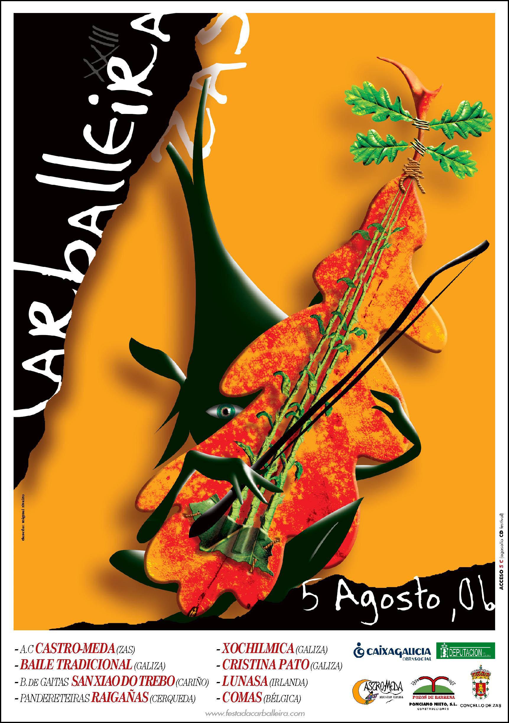 Cartel Festa Carballeira 2006