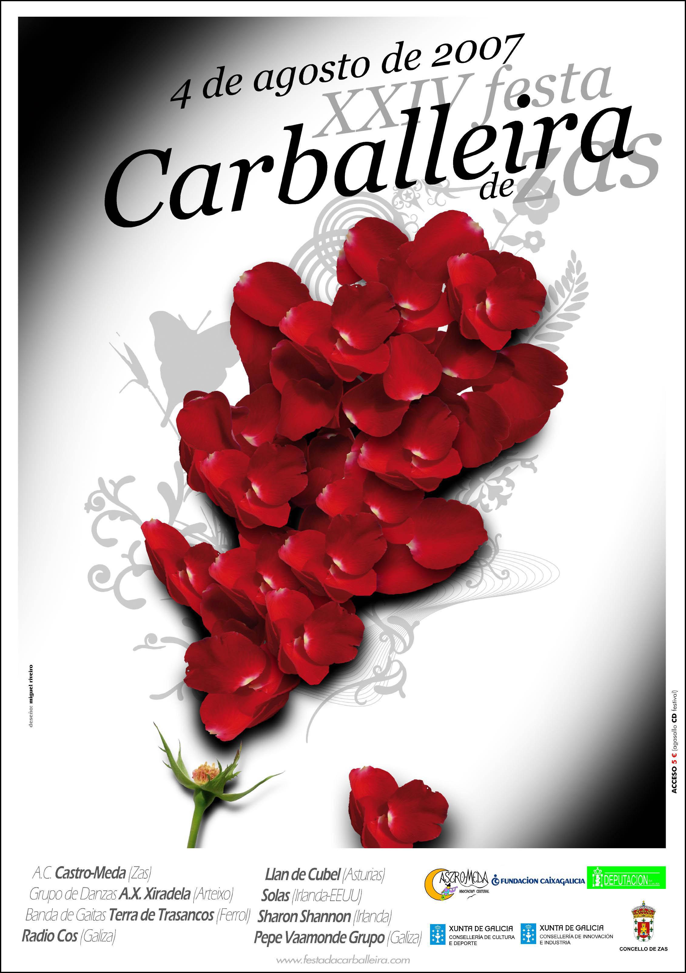 Cartel Festa Carballeira 2007