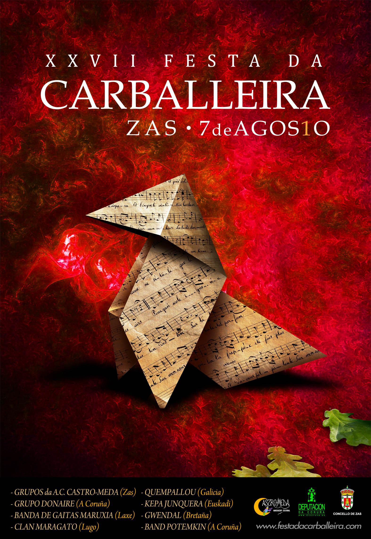 Cartel Festa Carballeira 2010